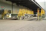 大和電機工業の両方向スライド式作業台