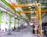 2.8t片脚橋形クレーン|大和電機工業