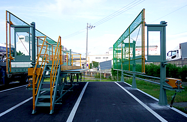 大和電機工業の安全作業台